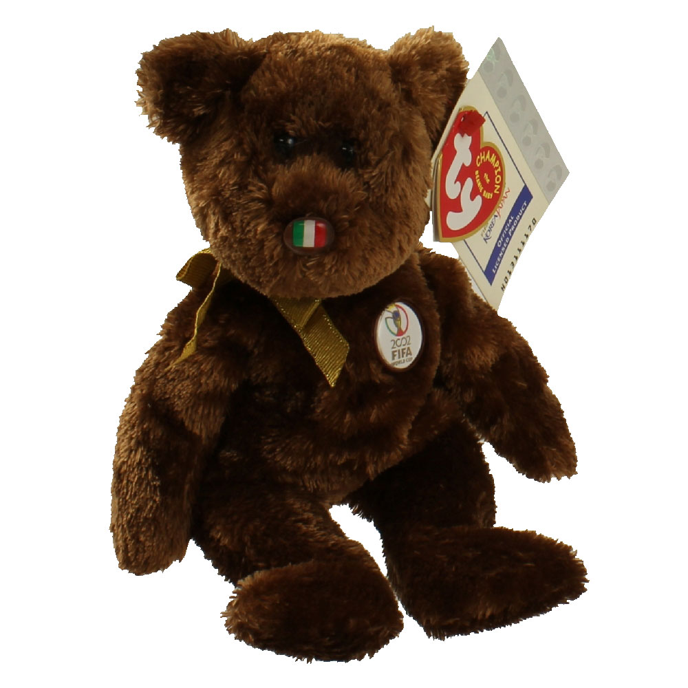 TY Beanie Baby - CHAMPION the FIFA Bear ( Italy ) (8.5 inch)   BBToyStore.com - Toys f4a17c05a4ff