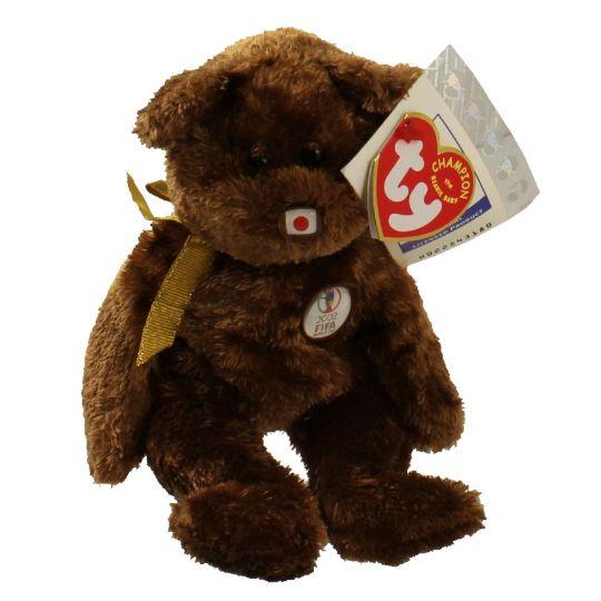 TY Beanie Baby - CHAMPION the FIFA Bear ( Japan ) (8.5 inch)   BBToyStore.com - Toys 2bfc92fab40