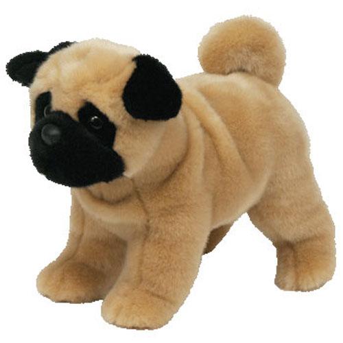 Ty Classic Plush Dax The Pug Dog Bbtoystore Com Toys Plush
