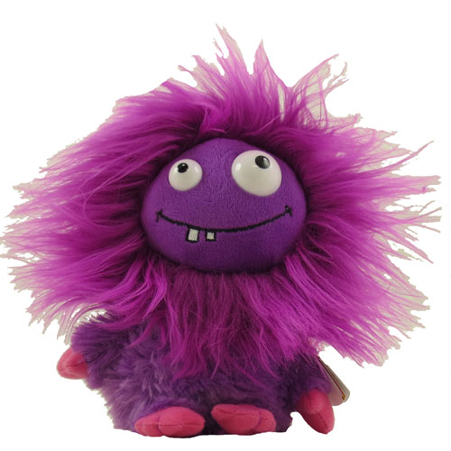ty frizzys lola the purple monster 6 inch bbtoystore. Black Bedroom Furniture Sets. Home Design Ideas