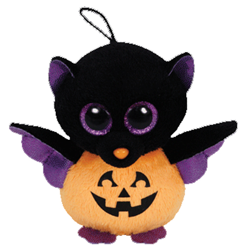 Ty Halloweenie Beanie Baby Batty The Pumpkin Bat 3 Inch