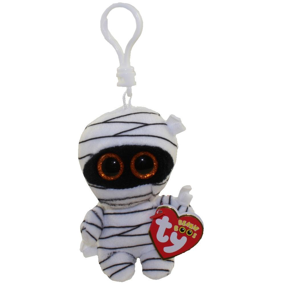 786a6f4abda TY Halloweenie Beanie Baby - Set of 2 (Mummy   Mask) (key clip - 3 ...