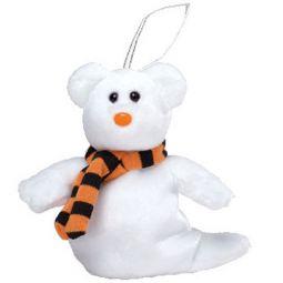 5c34bb00abb TY Halloweenie Beanie Baby - QUIVERS the Ghost Bear (4 inch)