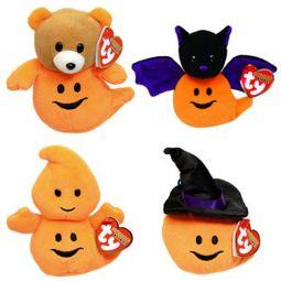 2e599841f00 TY Halloweenie Beanie Babies - Halloween 2012 Complete set of 4