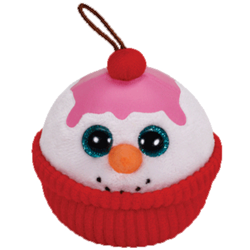 Ty Holiday Baby Flakes The Snowman Sundae 2014 2 5