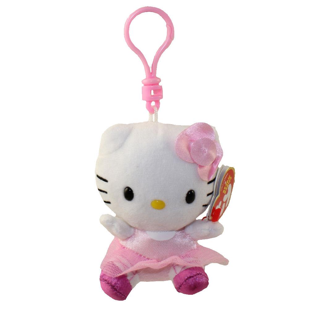 Ty beanie baby hello kitty ballerina plastic key - Ballerine hello kitty ...