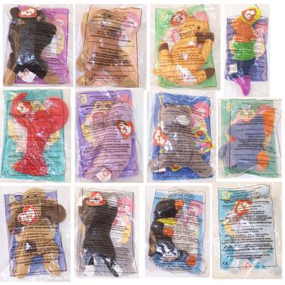 TY McDonald s Teenie Beanies - Complete Bagged Set of 12 (1998 ... 9b3a53867e1