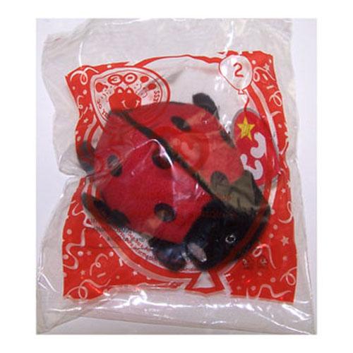 ty mcdonald u0026 39 s teenie beanie -  2 maiden the ladybug  2009   4 inch   bbtoystore com