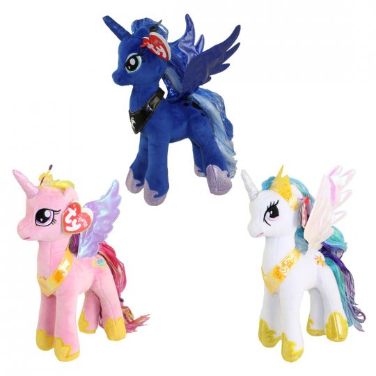 TY Beanie Babies - My Little Pony- SET of 3 PRINCESS (Cadence 8f66989b80b
