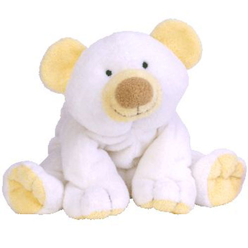 TY Pluffies - CLOUD the Bear (10 inch)  BBToyStore.com - Toys d4c4799b7f0