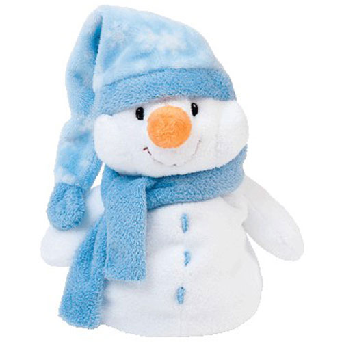 TY Pluffies - WINDCHILL the Snowman (8 inch)