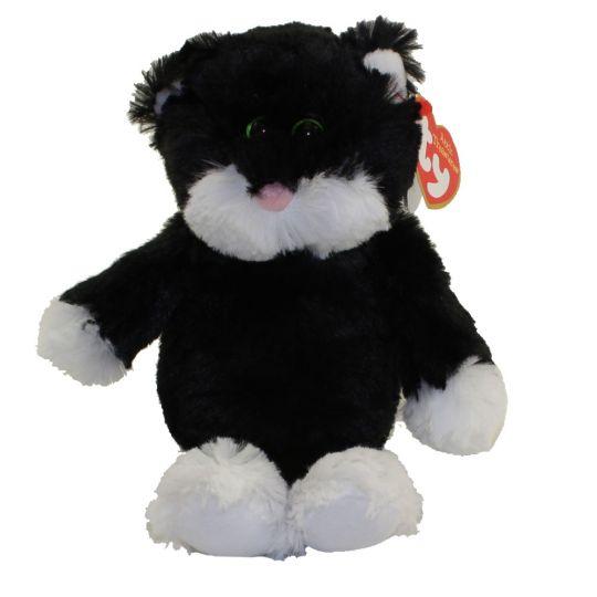 Ty Attic Treasures Bessie The Black White Cat Regular Size 8