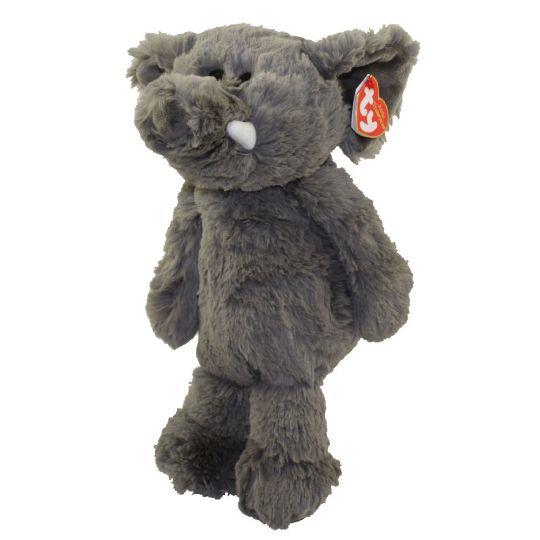 cf01660e2 TY Attic Treasures - ELLA the Elephant (Medium Size - 12 inch)   BBToyStore.com - Toys