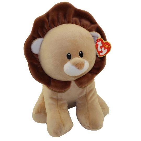Baby TY - BOUNCER the Lion (Medium Size - 13 inch)  BBToyStore.com - Toys ad5cf15f7c12
