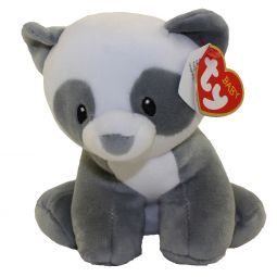 Medium Size - 13 inch MITTENS the Panda Bear Baby TY -MWMTs BabyTy Plush Toy