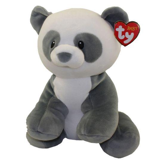 Baby TY - MITTENS the Panda Bear (Medium Size - 13 inch)  BBToyStore.com -  Toys 6e8aa06f54f