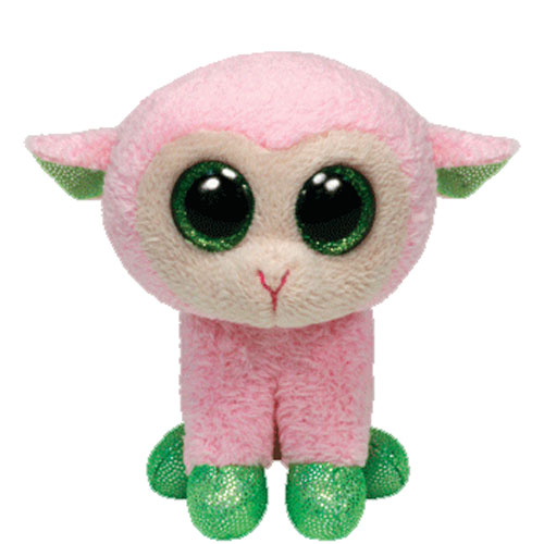 TY Basket Beanie Baby - BABS the Pink Lamb (3 inch)  BBToyStore.com - Toys aacc7d6dde0