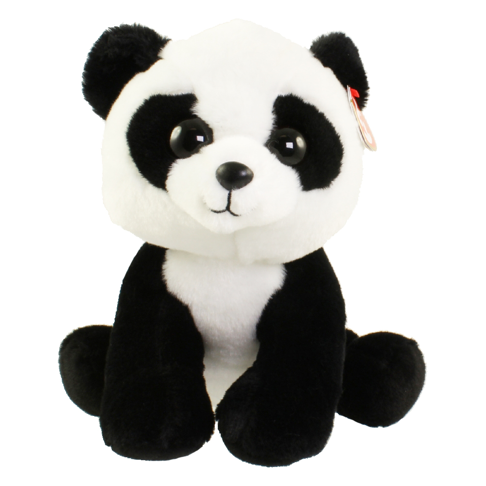 TY Classic Plush - BABOO the Panda (9.5 inch)  BBToyStore.com - Toys ... 12e632e6196