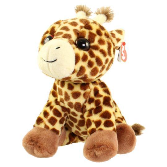 TY Classic Plush - PEACHES the Giraffe (9.5 inch)  BBToyStore.com - Toys 54b33f72c6e