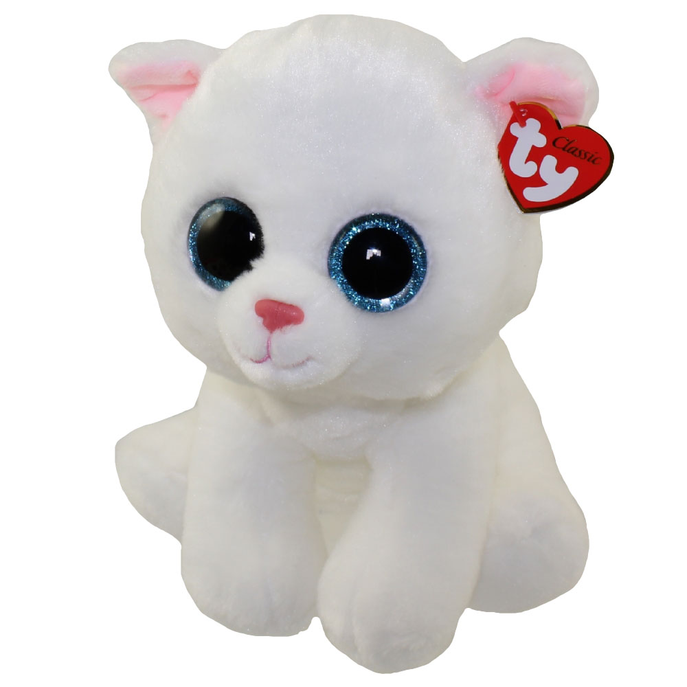 Ty Classic Plush Pearl The White Cat 9 5 Inch