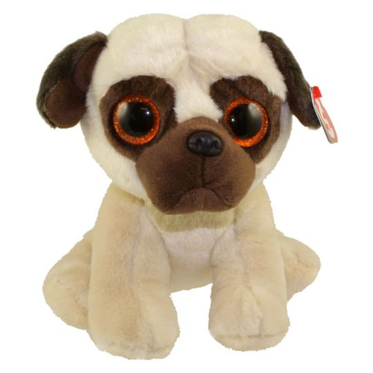 TY Classic Plush - RUFUS the Pug Dog (9.5 inch)  BBToyStore.com - Toys 6cd3305fd