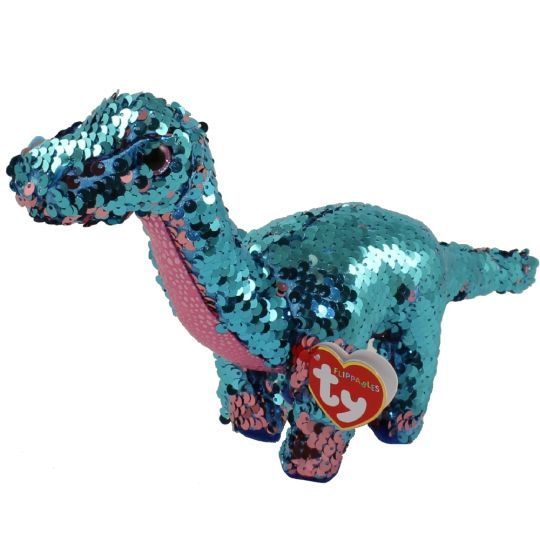 f5a2458069a TY Flippables Sequin Plush - TREMOR the Dinosaur (Regular Size - 6 inch)   BBToyStore.com - Toys