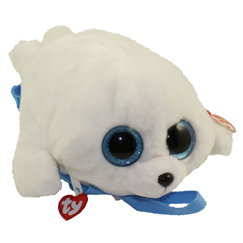 14710363eac Ty gear backpack icy the seal inch toys plush trading cards action figures  games online retail