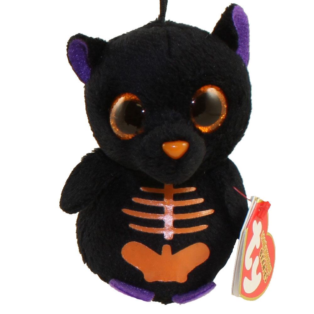 Ty Halloweenie Beanie Baby Scaredy The Black Bat 3 Inch