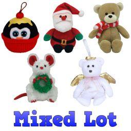 TY Jingle (Holiday Ornament) Baby Beanies  BBToyStore.com - Toys ... 81f88837a602