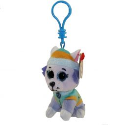 6fb66d1a7cd15 TY Beanie Baby - EVEREST ( Paw Patrol - Plastic Key Clip ) ...