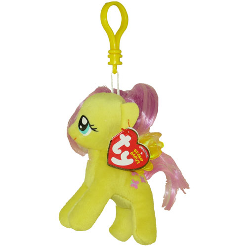 e9a16a597f8 TY Beanie Baby - FLUTTERSHY (My Little Pony) (Plastic Key Clip - 5