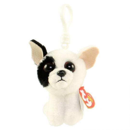 49254889746 TY Beanie Baby - MARCEL the Dog (Plastic Key Clip) (4 inch)  BBToyStore.com  - Toys