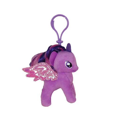 TY Beanie Baby - PRINCESS TWILIGHT SPARKLE (My Little Pony) (Plastic Key  Clip - 5 inch)  BBToyStore.com - Toys 916c98673f51