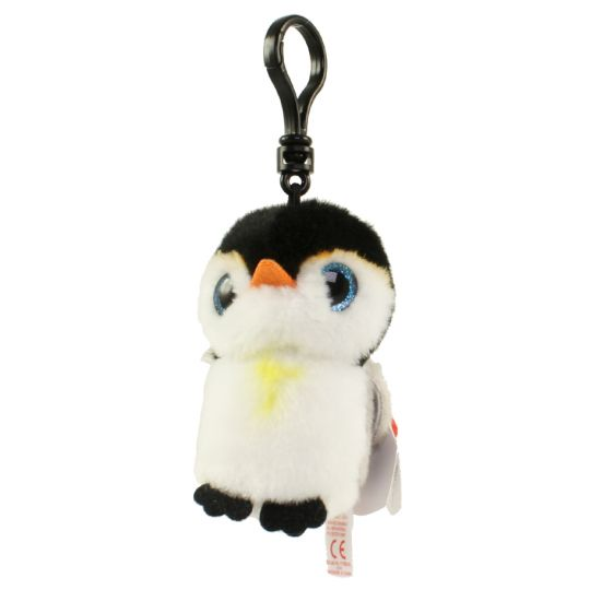 8da36128408 TY Beanie Baby - PONGO the Penguin (Plastic Key Clip) (4 inch)   BBToyStore.com - Toys
