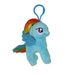 e8bff2cf24d TY Beanie Baby - RAINBOW DASH (My Little Pony) (Plastic Key Clip -