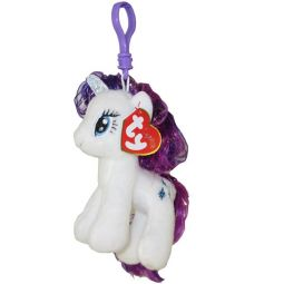 e95143afdf8 TY Beanie Baby - RARITY with Glitter Hairs (My Little Pony) (Plastic Key