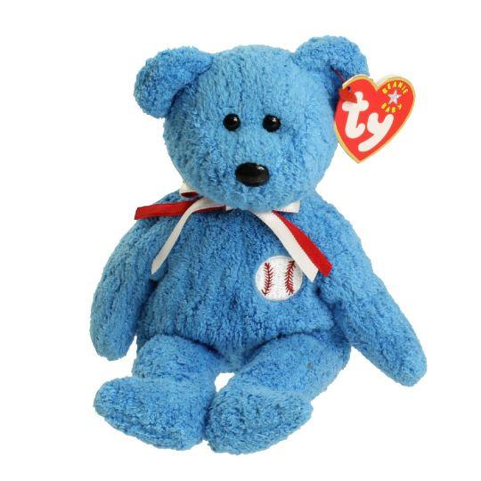 85bda15620e TY Beanie Baby - ADDISON the Baseball Bear (8.5 inch)  BBToyStore.com - Toys