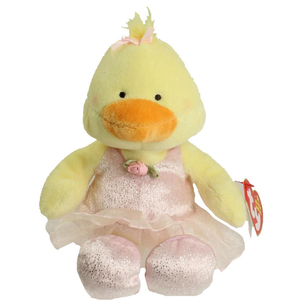 TY Beanie Baby - ALLEGRO the Ballerina Duck (8.5 inch)  BBToyStore.com -  Toys ac7f072e582