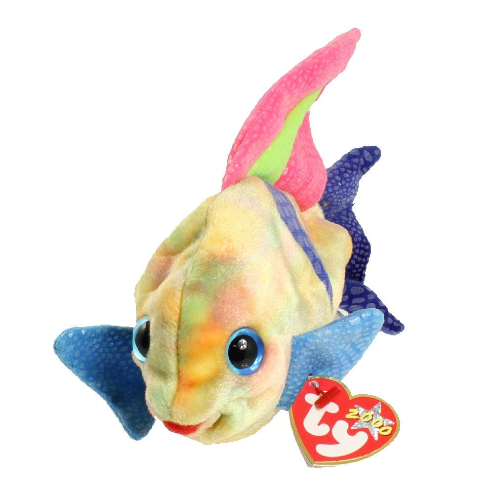 Ty beanie baby aruba the angel fish 7 inch bbtoystore for Fish beanie baby