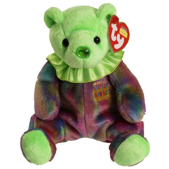 TY Beanie Baby - AUGUST the Birthday Bear (7.5 inch)  BBToyStore.com -  Toys 433d374b6c4