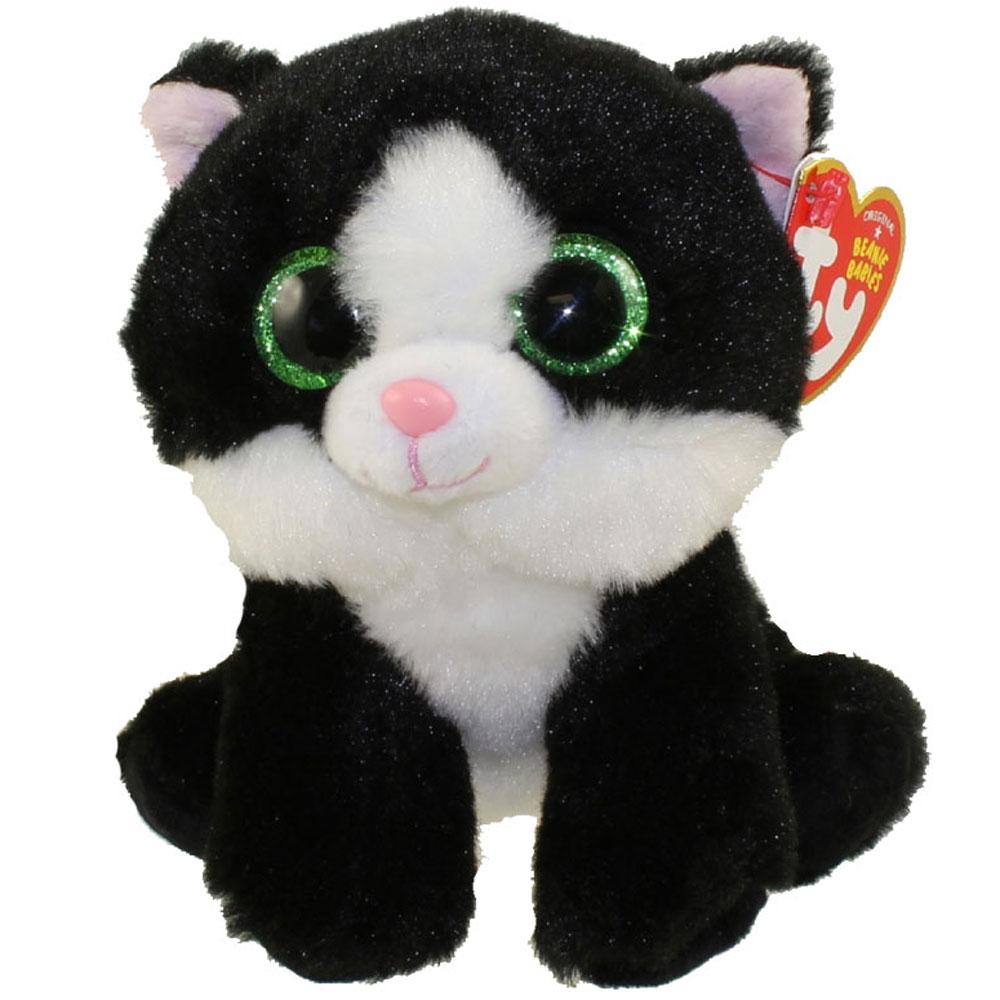 Black And White Beanie Boo Cat