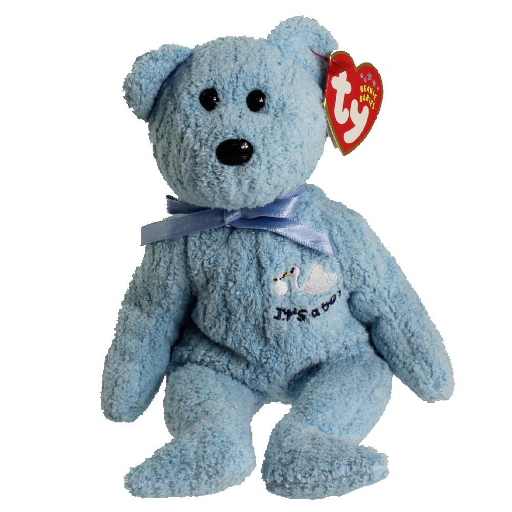 c7d5aca70ef TY Beanie Baby - BABYBOY the Bear (Stork   It s a boy on Chest)