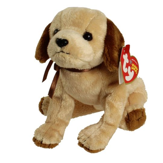 Ty Beanie Baby Badges The Dog 5 Inch Bbtoystore Com Toys