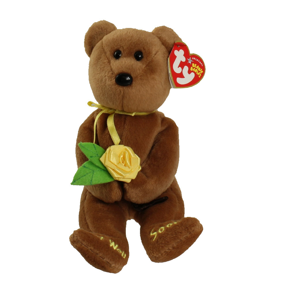Ty beanie baby bandage the bear 8 5 inch bbtoystore for Bb shop