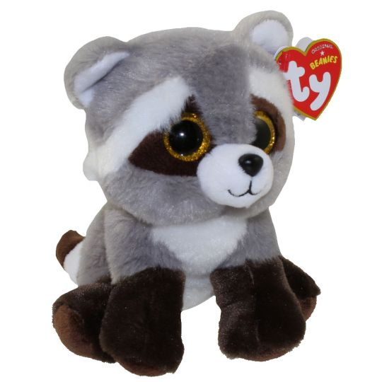 TY Beanie Baby - BANDIT the Raccoon (6 inch)  BBToyStore.com - Toys ... 860523717ce