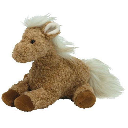 aacf013daa2 TY Beanie Baby - BARLEY the Horse (7 inch)  BBToyStore.com - Toys ...