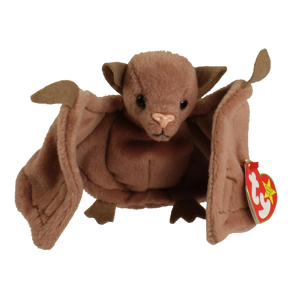 TY Beanie Baby - BATTY the Bat (Brown Version) (4.5 inch)  BBToyStore.com -  Toys 8db7ca6246a