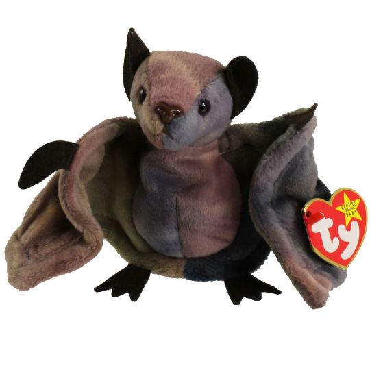 TY Beanie Baby - BATTY the Bat (TY-Dyed Version) (4.5 inch)  BBToyStore.com  - Toys fc6517e10