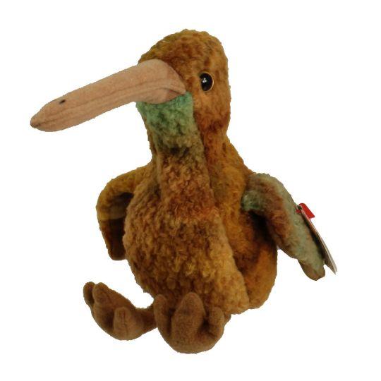 63be8dce331 TY Beanie Baby - BEAK the Kiwi Bird (5.5 inch)  BBToyStore.com - Toys