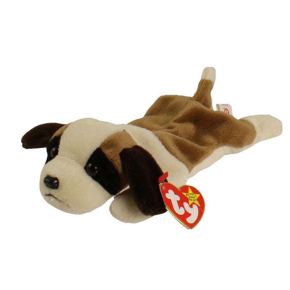 TY Beanie Baby - BERNIE the St. Bernard Dog (8.5 inch